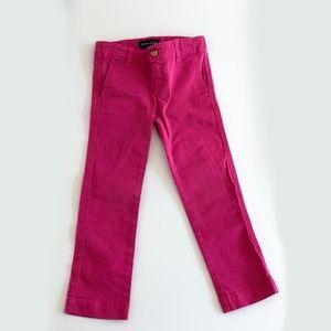 Ralph Lauren Sport Pink Stretch Chino Pant   4-4T